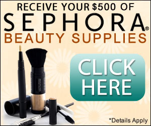 $500 in Sephora Beauty Supplies